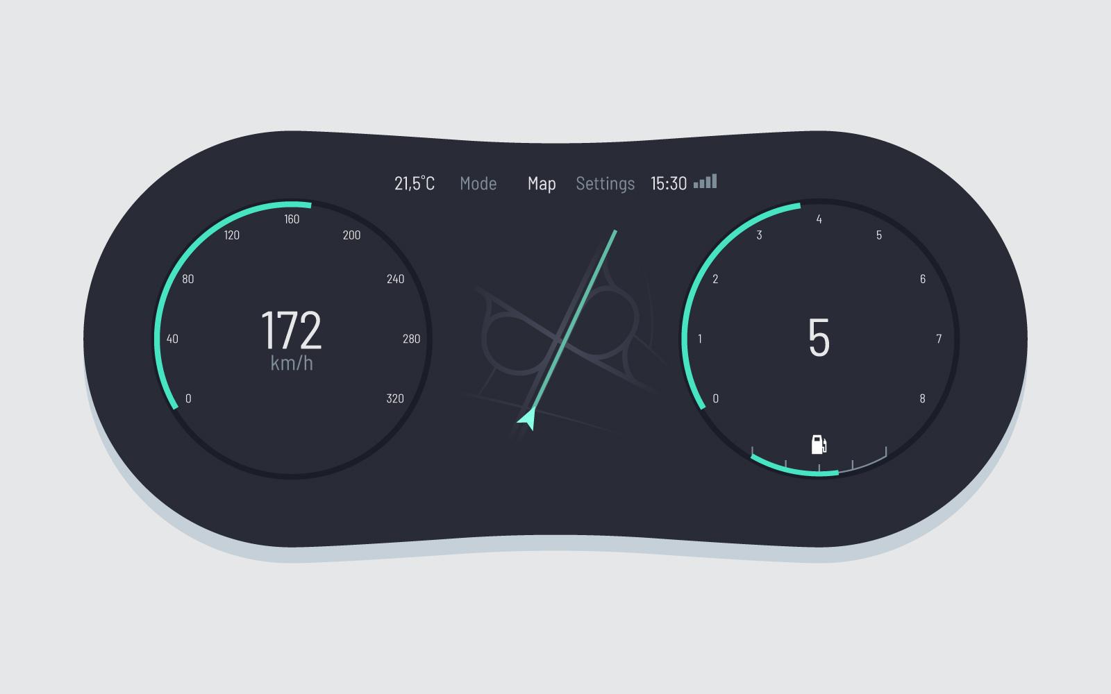 car dashboard free vector art 2741 free downloads
