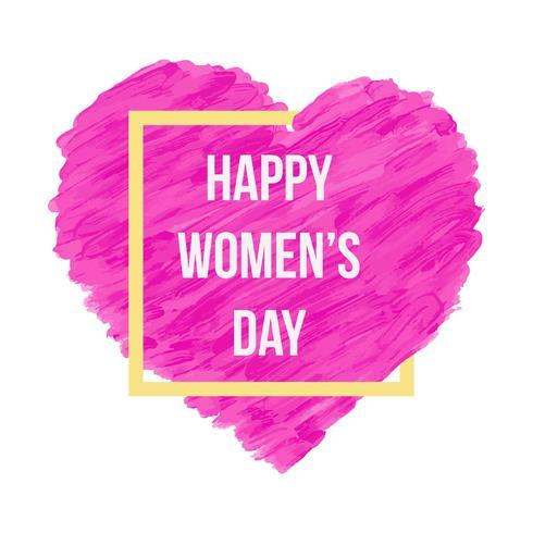 Glücklicher Frauen-Tageshintergrund vektor