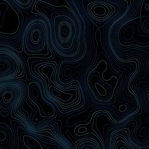 Abstract background with topographic lines