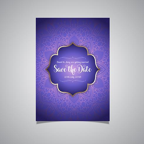 Luxo salvar o convite de data