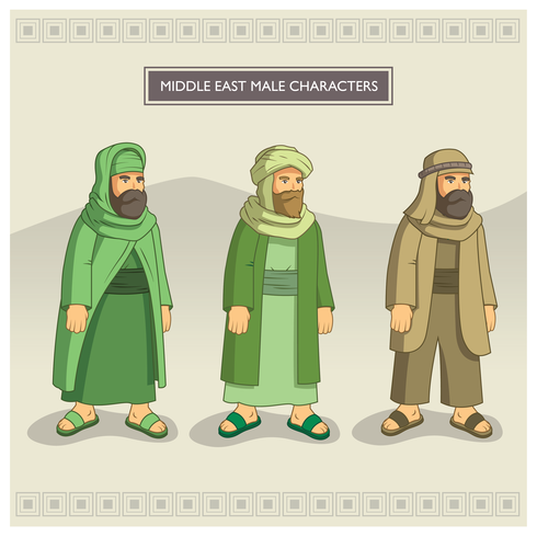 Middle East Male Characters