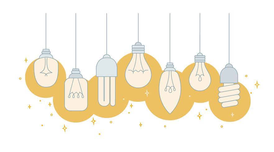 Lichter Lampen Vektor