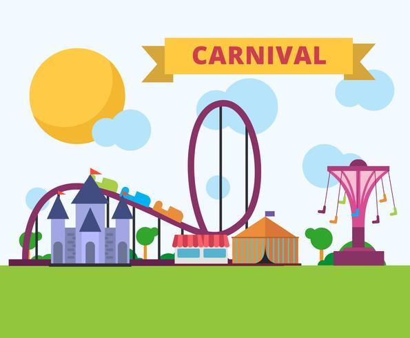 Vecteur de carnaval