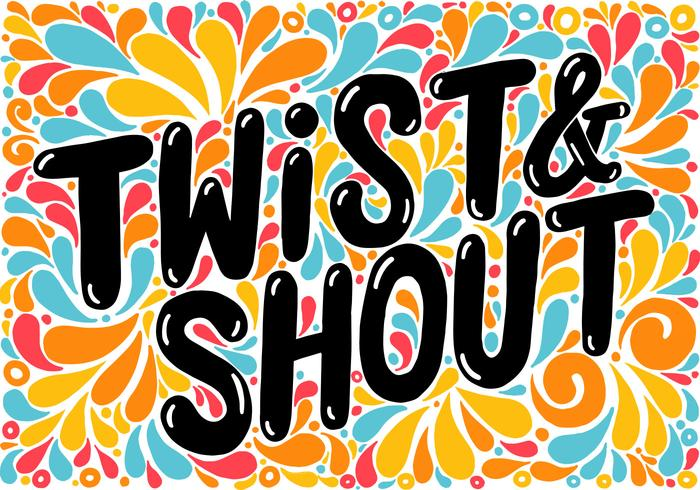 Twist & crier lettrage