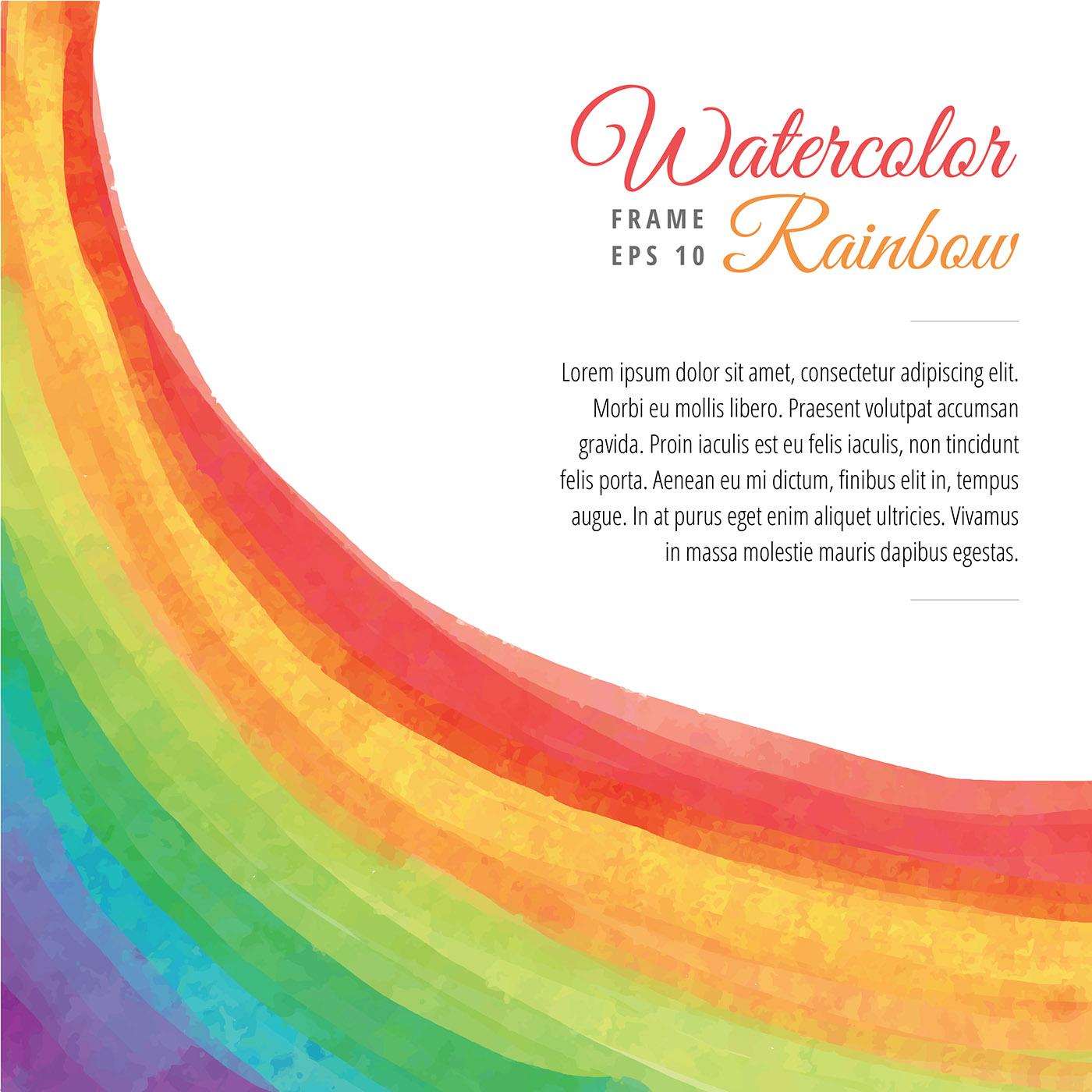 Rainbow Frame Free Vector Art - (6938 Free Downloads)