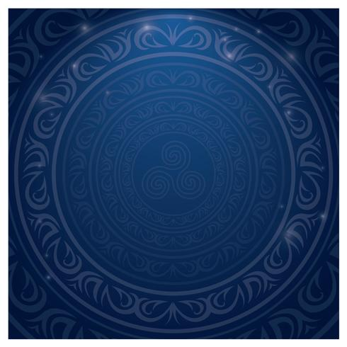 Frontera islámica azul