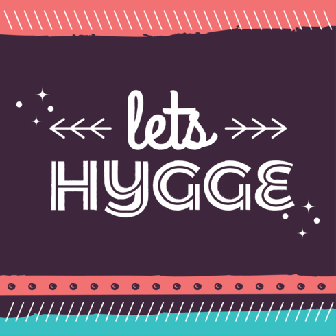 Let's Hygge Poster
