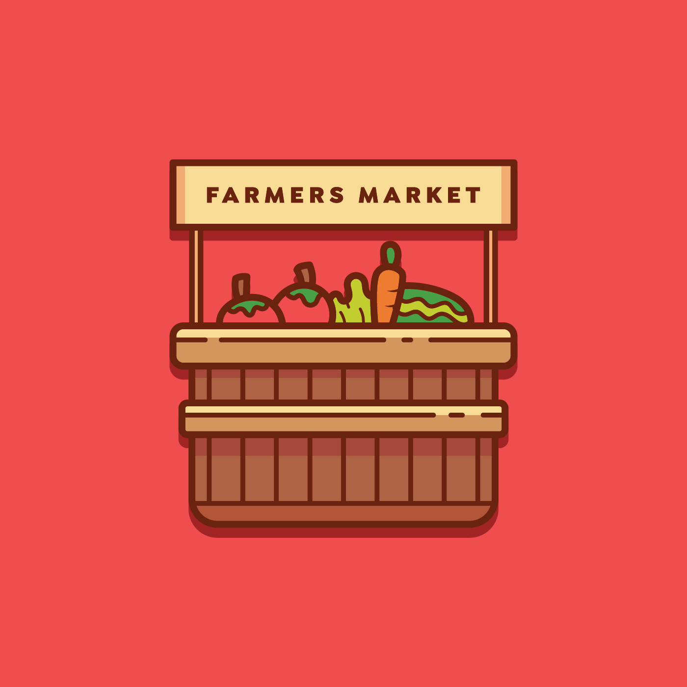 farmers market logo vector download free vector art
