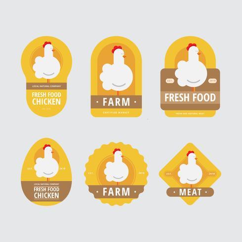 Ilustración de logotipo de mercado de agricultores