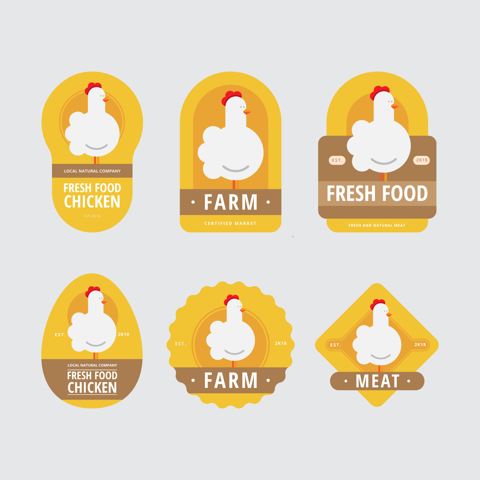 meat market logo free vector art 11329 free downloads