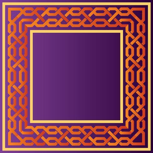 Conjunto de Vector de frontera islámica