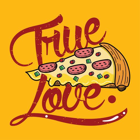 verdadera pizza de amor