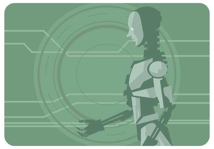 Ai Robot Vector