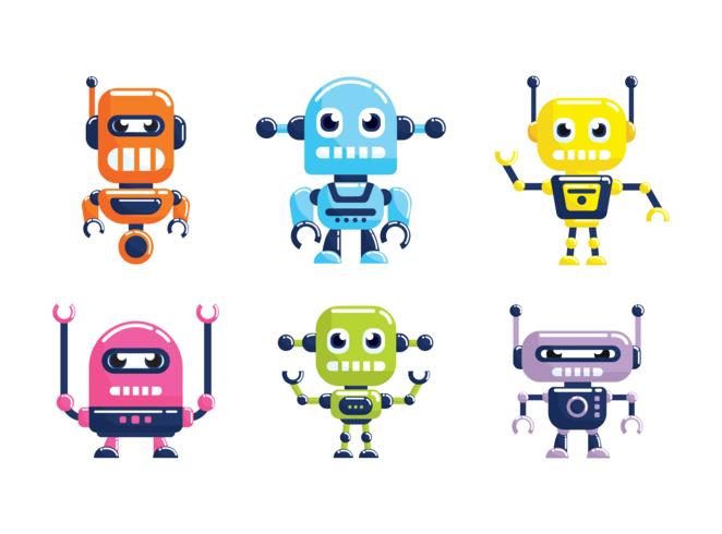 Ai Robot Vector Download Vetores Gratis Desenhos De Vetor