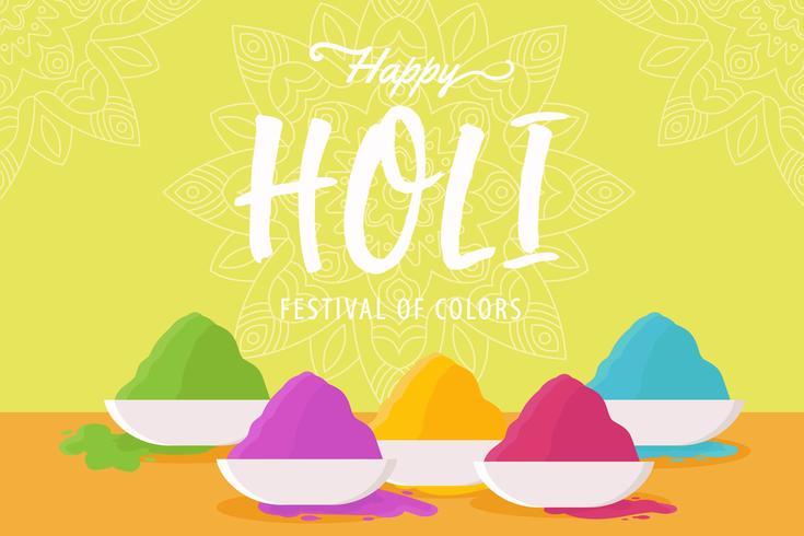 Vetores Happy Holi