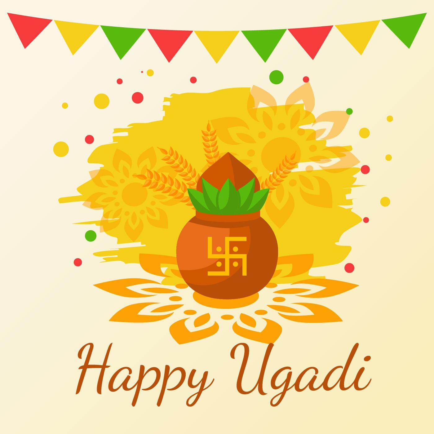 Hindu New Year Free Vector Art 8238 Free Downloads