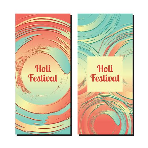 Happy Holi Banners