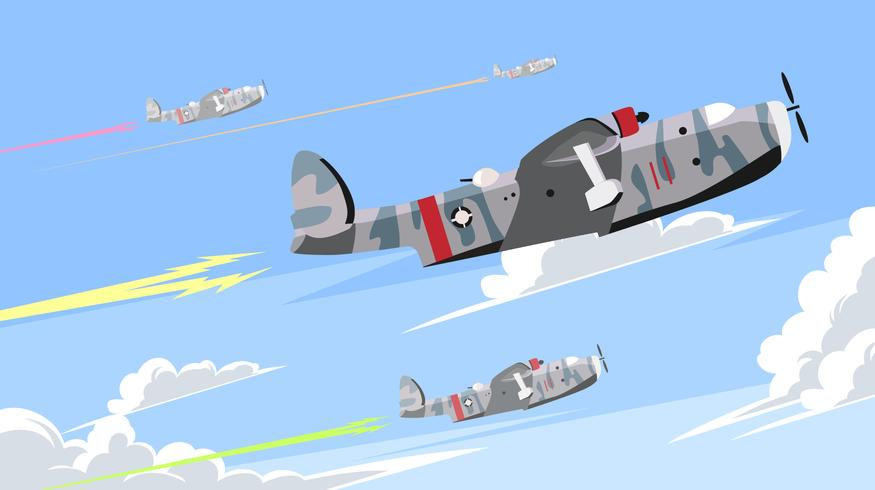 Glider Attractions Vector