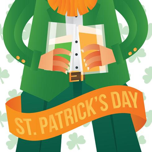 St Patricks Day Illustration vector