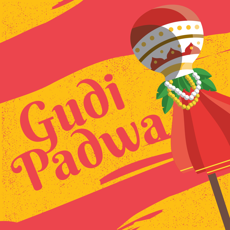 Gudi Padwa Greeting Card Download Free Vector Art Stock Graphics