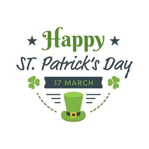 Glückliches St Patrick Tagesplakat