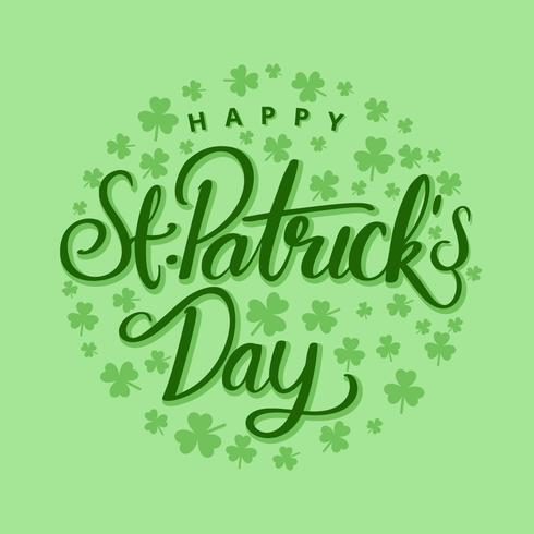 Saint Patricks Day Vector Background