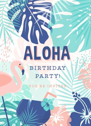 Creative polynesian birthday party vector invitation download free creative polynesian birthday party vector invitation stopboris Choice Image