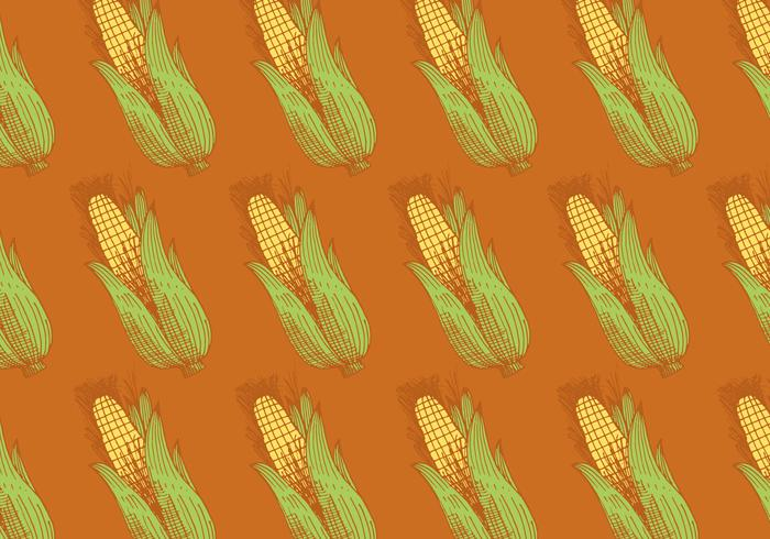 retro maïs patroon