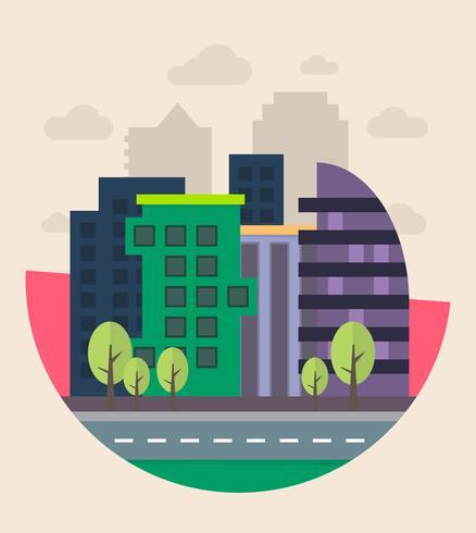 Conception de paysage urbain