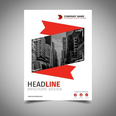 Ribbon Brochure Design