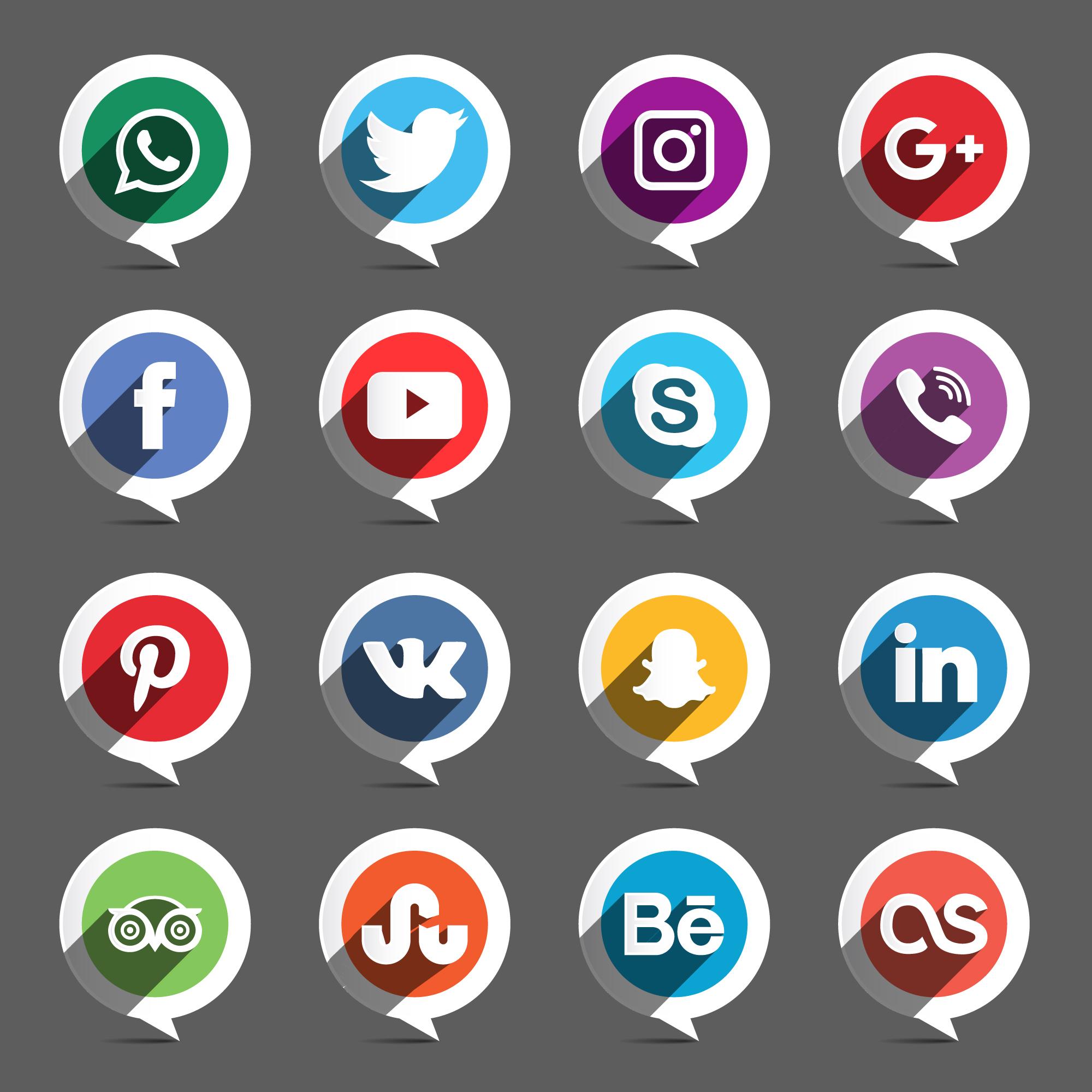 led sign social network - HD2000×2000