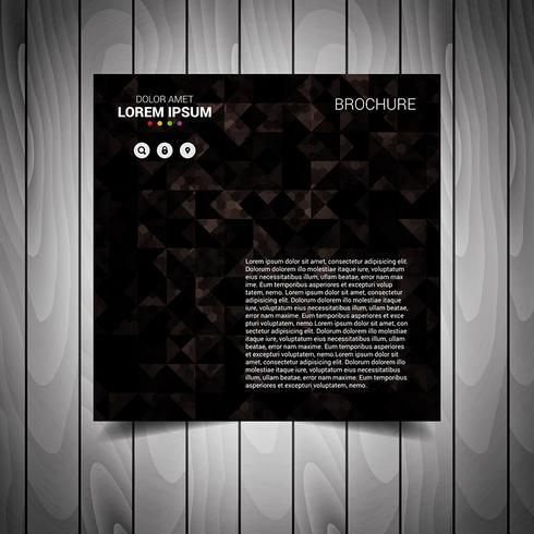 Black Brown Business Flyer Template