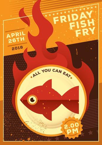 Freitag Fisch braten