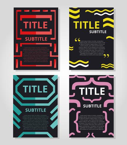 Abstract Graphic Poster Template