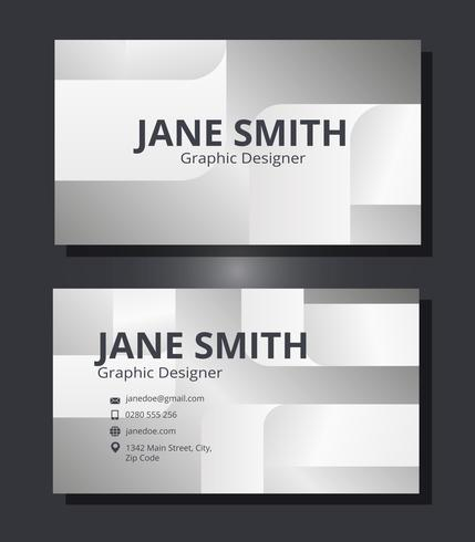 Corporate Business Card Template Download Free Vector Art Stock