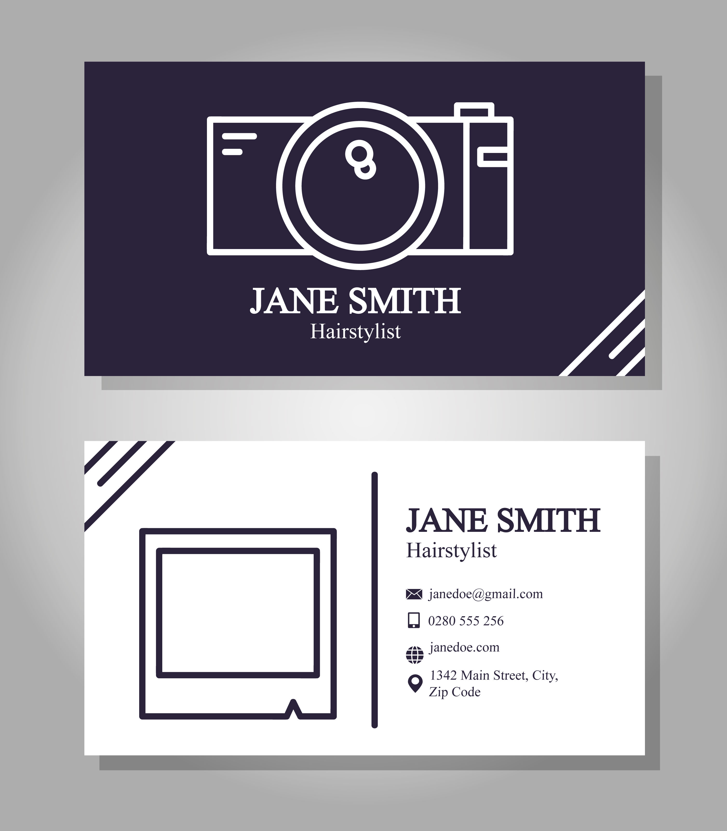 Photographer Business Card Free Vector Art 34343 Free Downloads