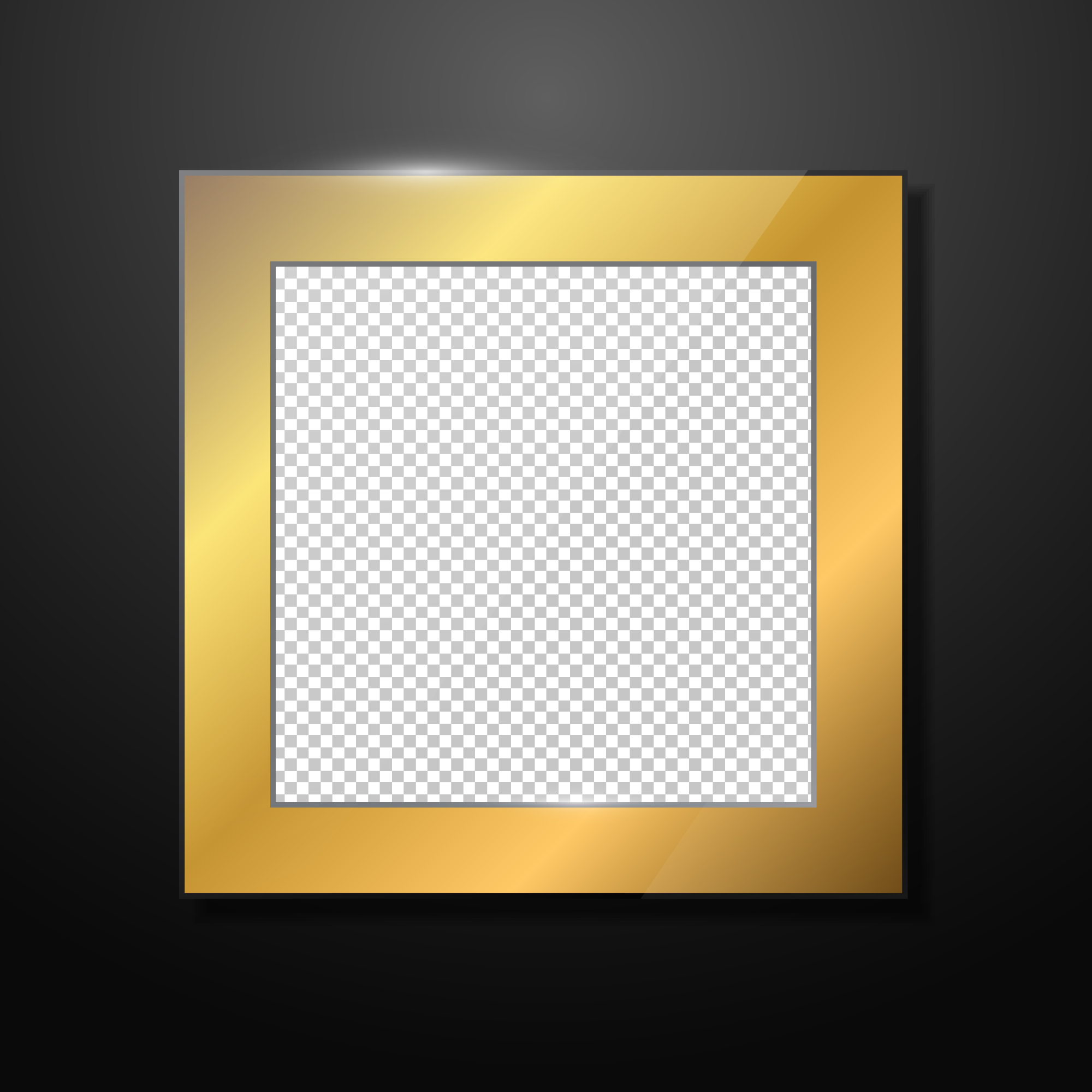 Gold Photo Frame Download Free Vector Art Stock