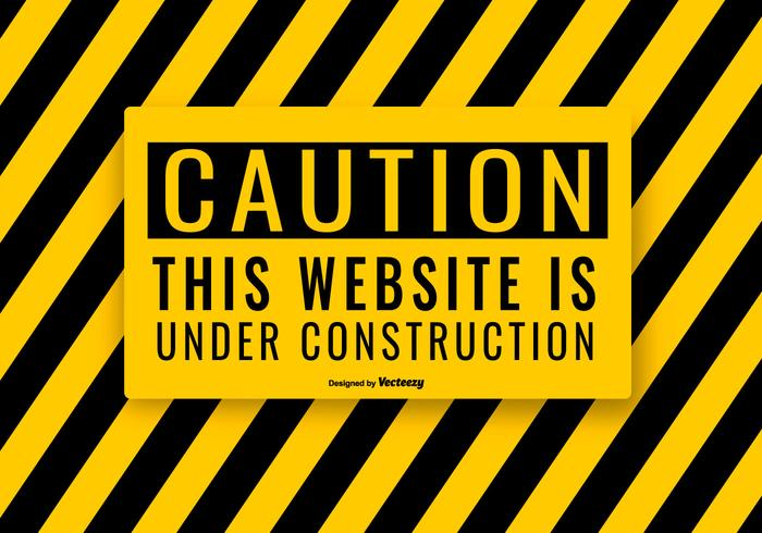 Website Under Construction Illustration vector
