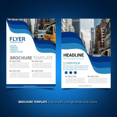 Folleto de folleto de negocios