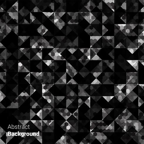 Black Triangle Background