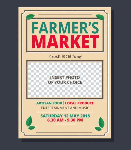 Farmer's Market Flyer Template