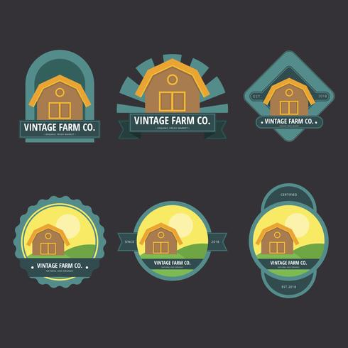Ilustração do logotipo do mercado dos fazendeiros