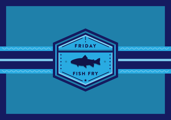 Friday Fish Fry Vector