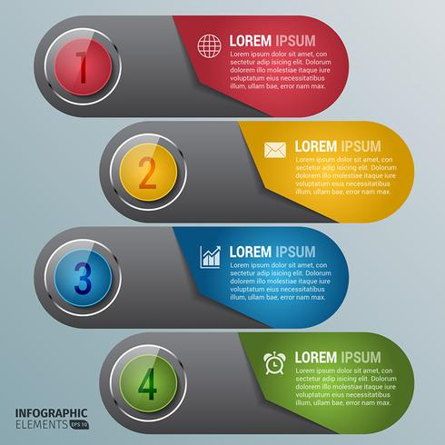 Options de numéro de diagramme coloré