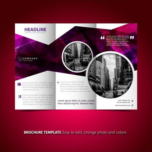 Purple Brochure
