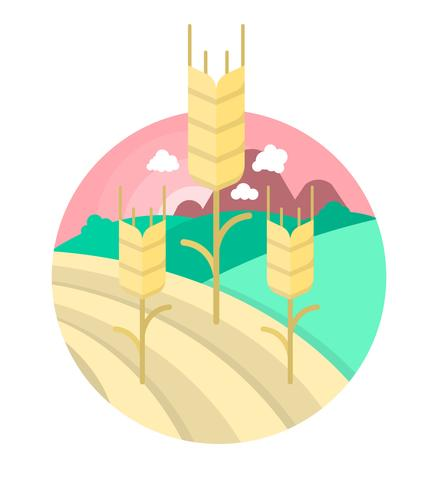 Flat Agriculture Illustration