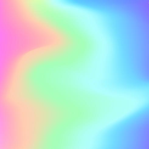 Holographischer Hintergrund Vektor