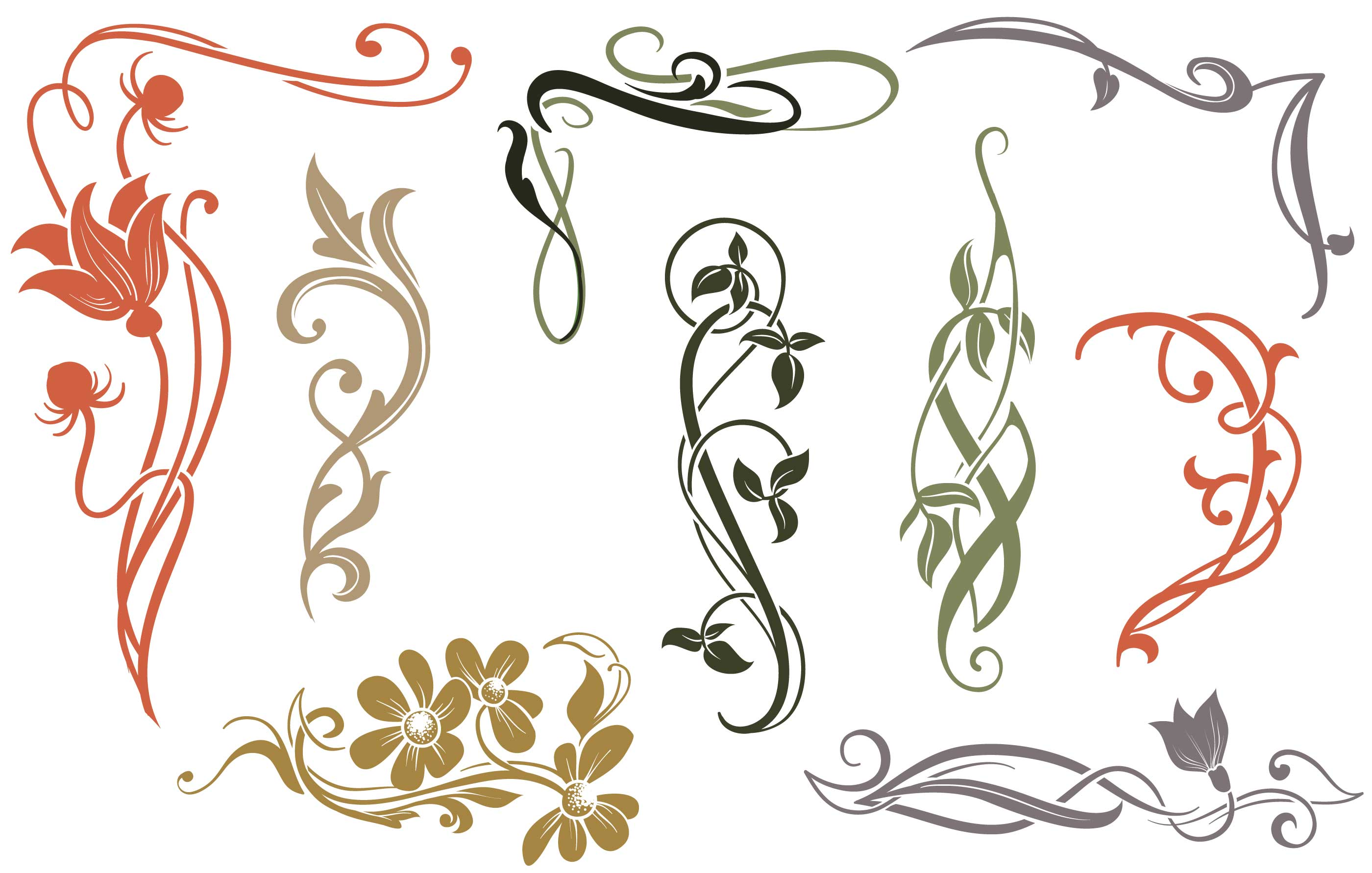 art nouveau vectors download free vector art stock. Black Bedroom Furniture Sets. Home Design Ideas