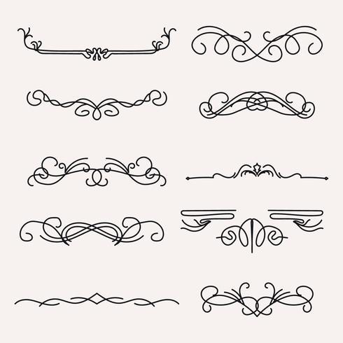 Lignes Art Nouveau