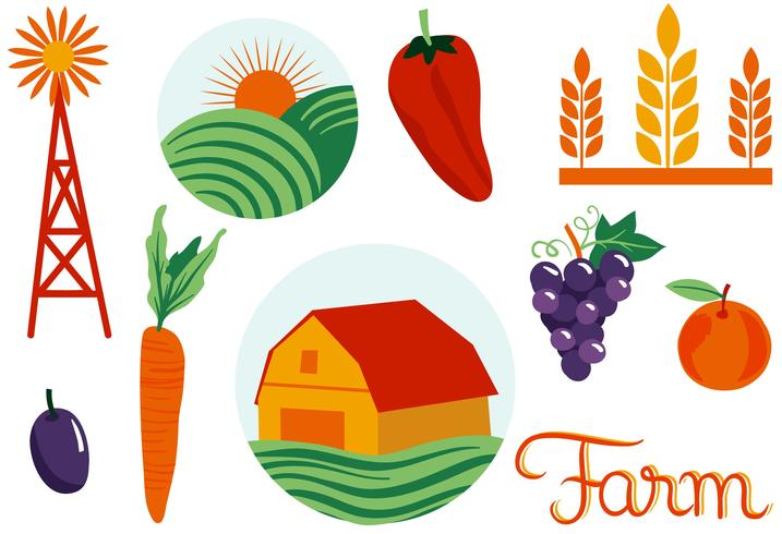Landwirtschaft 2 Vektoren